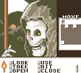 Shadowgate Classic Game Boy Color I tried to cross the right bridge.