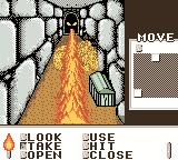 Shadowgate Classic Game Boy Color When I grabbed something, WHOOSH!