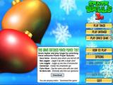 Santa Balls 3D Browser Main menu