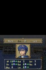 Fire Emblem: Shadow Dragon Nintendo DS Leveling up