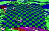 Adventures of Beetlejuice: Skeletons in the Closet DOS Sandworms are part of your obstacles.