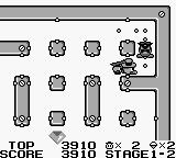Lock n' Chase Game Boy Stage 1-2, cornered in by the policemen