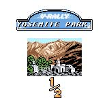 V-Rally Championship Edition Game Boy Color Race 1 in Yosemite Park