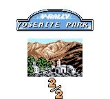V-Rally Championship Edition Game Boy Color Race 2 in Yosemite Park