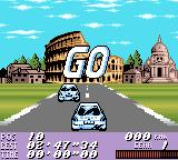 V-Rally: Championship Edition Game Boy Color Starting the Italy race