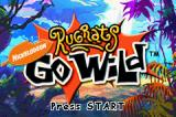 Rugrats Go Wild Game Boy Advance Title screen