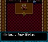 Dungeon Explorer II TurboGrafx CD Auditioning the King of Ardeen.