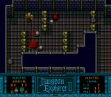 Dungeon Explorer II TurboGrafx CD Roaming one of the dungeons.