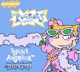 Rugrats: Totally Angelica Game Boy Color Title screen (German version)