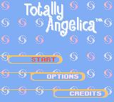 Rugrats: Totally Angelica Game Boy Color Main menu