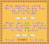 Rugrats: Totally Angelica Game Boy Color Instructions for Grandpa's Cookie Catch