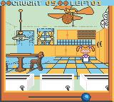 Rugrats: Totally Angelica Game Boy Color The cookie is flying through the air.