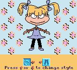 Rugrats: Totally Angelica Game Boy Color Hmm. Do these go with my eyes?