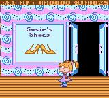 Rugrats: Totally Angelica Game Boy Color On to Susie's Shoes