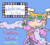 Rugrats: Totally Angelica Game Boy Color Welcome to the Fashion Show. Because it's all about me!