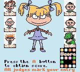 "Rugrats: Totally Angelica Game Boy Color ""I do my little turn on the catwalk."""