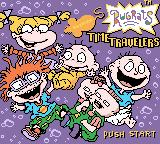 Rugrats: Time Travelers Game Boy Color Title screen (English version)