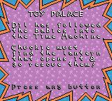 Rugrats: Time Travelers Game Boy Color Story of the Toy Palace.