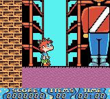Rugrats: Time Travelers Game Boy Color Starting location