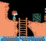 Rugrats: Time Travelers Game Boy Color Starting in the mine.