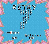 Rugrats: Time Travelers Game Boy Color I died. Do I want to retry?