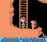 Rugrats: Time Travelers Game Boy Color Make sure you don't hit the worm.