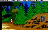 King's Quest IV: The Perils of Rosella Atari ST That looks inviting