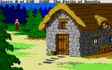 King's Quest IV: The Perils of Rosella Atari ST A cosy cabin