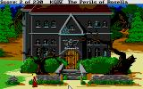 King's Quest IV: The Perils of Rosella Atari ST I wonder if this house is haunted?