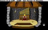 King's Quest IV: The Perils of Rosella Atari ST Playing the organ