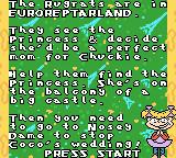 Rugrats in Paris: The Movie Game Boy Color Opening story