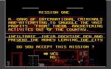 Lethal Weapon Atari ST Mission briefing