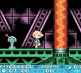 Rugrats in Paris: The Movie Game Boy Color Starting location and a red switch