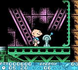 Rugrats in Paris: The Movie Game Boy Color A blue switch