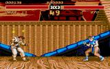 Street Fighter II Atari ST Ryu is seeing stars