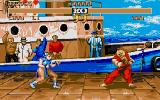 Street Fighter II Atari ST Fighting Ken