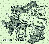 The Rugrats Movie Game Boy Title screen