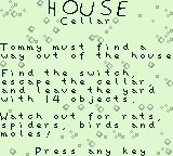 The Rugrats Movie Game Boy Opening story. We begin in the house cellar.