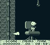 The Rugrats Movie Game Boy Starting location