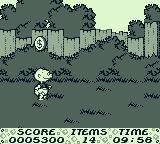 The Rugrats Movie Game Boy Now to cross the yard. Unlike the 1st 2 levels, I must collect 14 items to exit.
