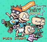 The Rugrats Movie Game Boy Color Title screen
