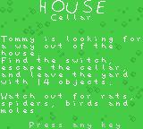 The Rugrats Movie Game Boy Color Opening story. We begin in the house cellar.