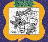 The Rugrats Movie Game Boy Color Title screen (Super Game Boy)