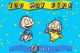 Rugrats: Castle Capers Game Boy Advance Kimi may find Tommy and Dil in this level.