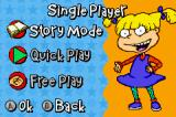 Rugrats: I Gotta Go Party Game Boy Advance Story mode, quick play or free play?