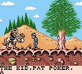 Lucky Luke Game Boy Color More of the opening story.