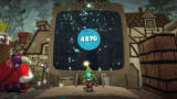 LittleBigPlanet PlayStation 3 When you reach the end of a level, your score will be shown, along with any prizes you've won