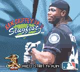 Ken Griffey Jr.'s Slugfest Game Boy Color Title screen