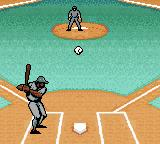 Ken Griffey Jr.'s Slugfest Game Boy Color The ball is pitched.