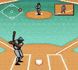Ken Griffey Jr.'s Slugfest Game Boy Color I need to keep an eye on the guy at first. Make sure he doesn't steal.